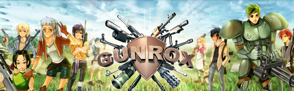 GUNROX - multiplayer online tactics game